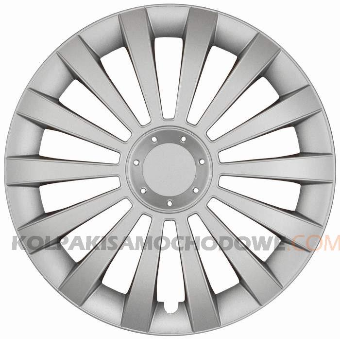 Kołpaki samochodowe Meridian - srebrny, 14 cali