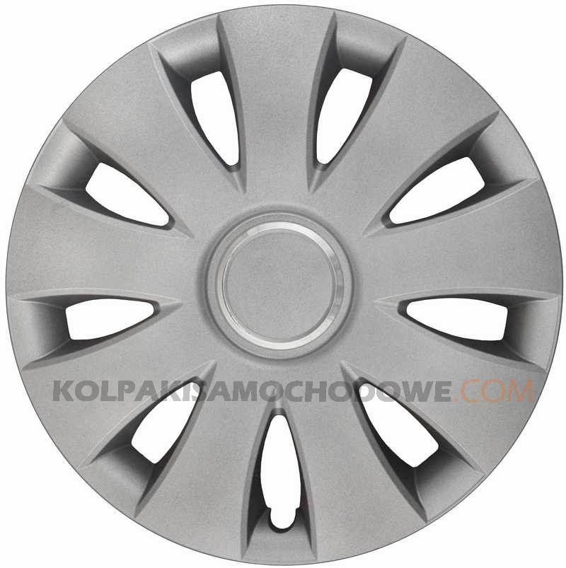 Kołpaki samochodowe Aura Ring - srebrny, 16 cali