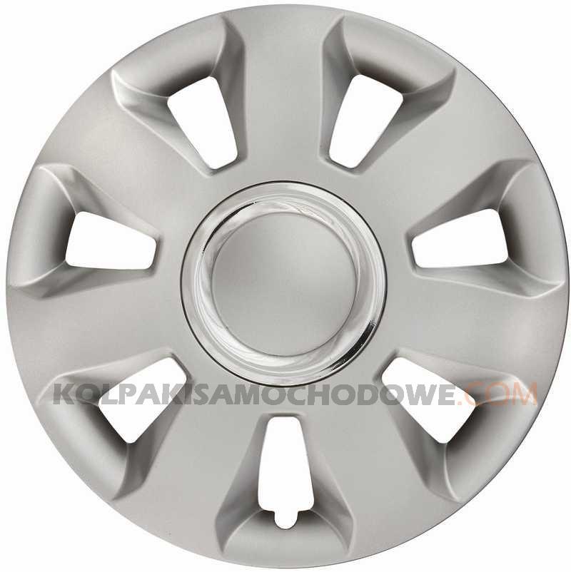 Kołpaki samochodowe Ares Ring - srebrny, 15 cali