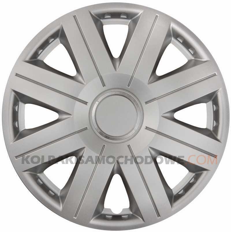 Kołpaki samochodowe Cosmos Ring - srebrny, 15 cali