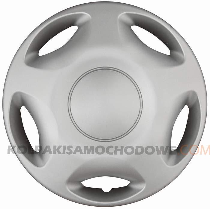 Kołpaki samochodowe Spike - srebrny, 15 cali