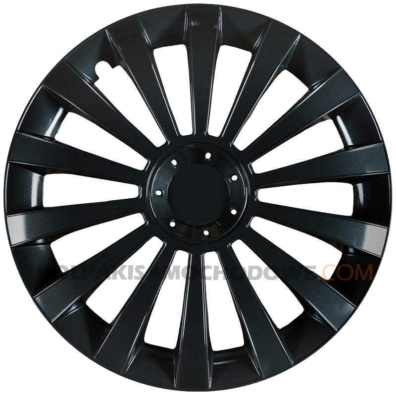 Kołpaki samochodowe Meridian - czarny, 14 cali