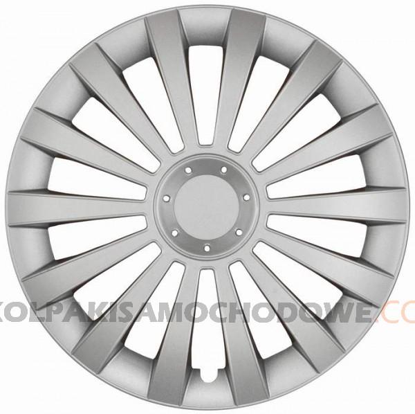 Kołpaki samochodowe Meridian - srebrny, 16 cali