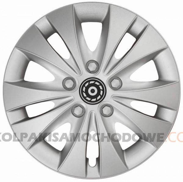 Kołpaki samochodowe Storm - srebrny, 16 cali