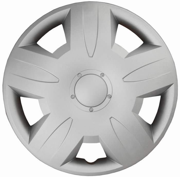 Kołpaki samochodowe Portos - srebrny, 15 cali