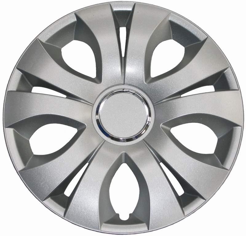 Kołpaki samochodowe Top Ring - srebrny, 15 cali