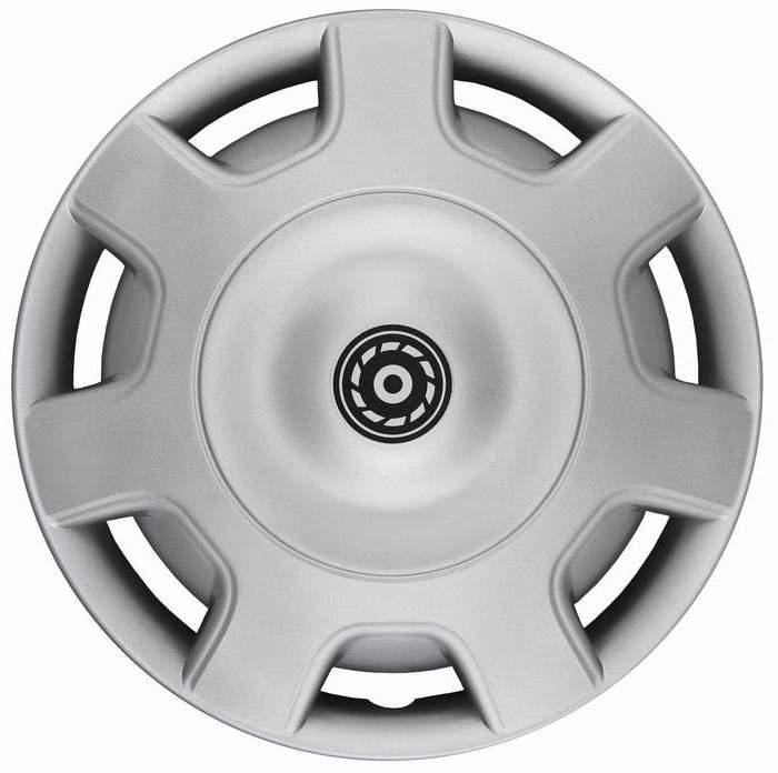 Kołpaki samochodowe Grom - srebrny, 16 cali