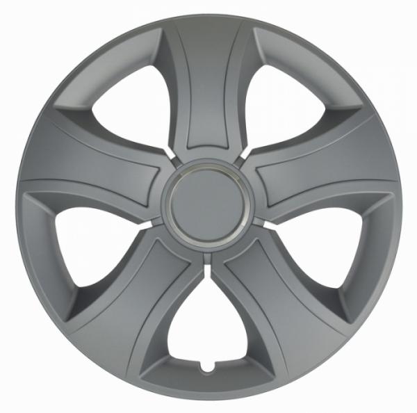 Kołpaki samochodowe Bis ring - srebrny, 15 cali