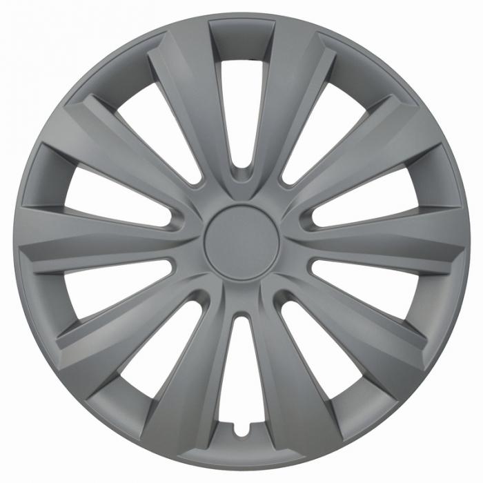 Kołpaki samochodowe Delta ring - srebrny, 16 cali