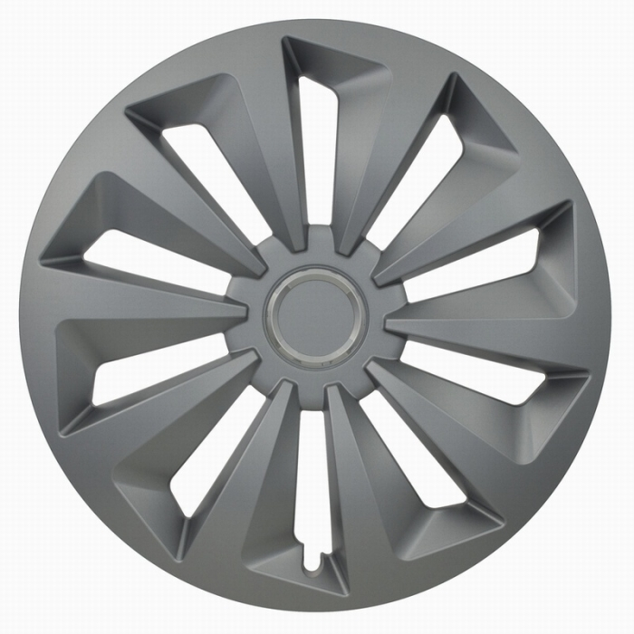 Kołpaki samochodowe Fox ring - srebrny, 15 cali