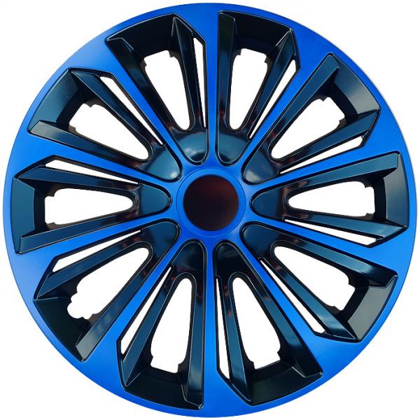 Kołpaki samochodowe Strong - niebiesko czarny, 15 cali