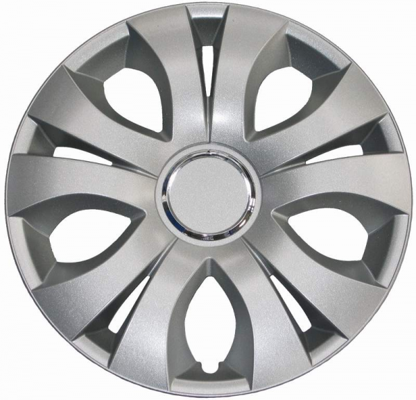 Kołpaki samochodowe Top Ring - srebrny, 17 cali