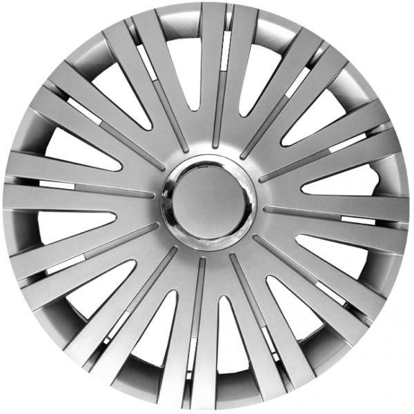 Kołpaki samochodowe Active - srebrny, 15 cali