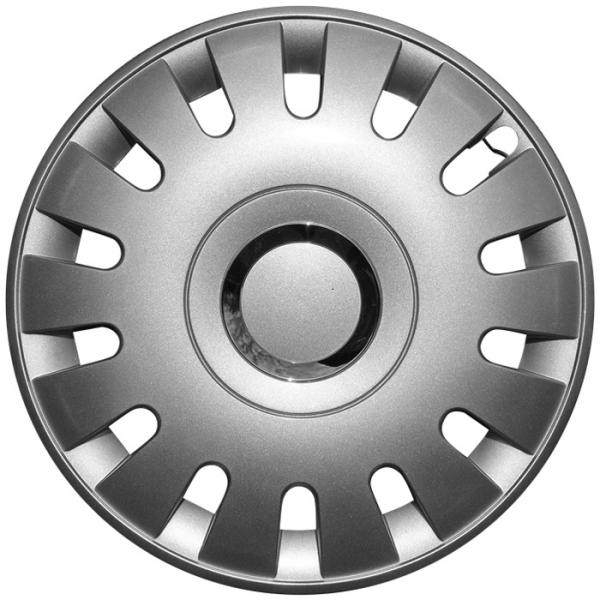 Kołpaki samochodowe Bell - srebrny, 15 cali