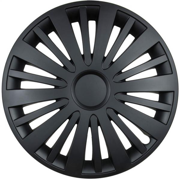Kołpaki samochodowe Falcon - czarny mat, 15 cali