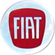 Kołpaki do Fiat (czerwony)