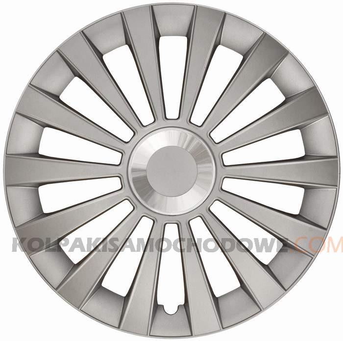Kołpaki samochodowe Meridian Ring - srebrny, 13 cali