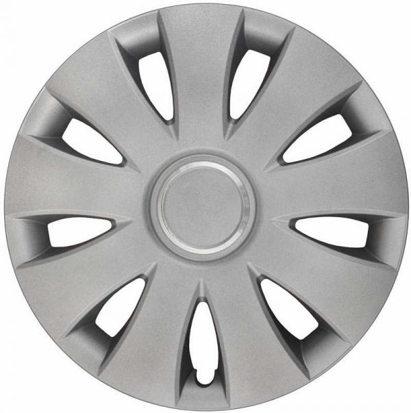 Kołpaki samochodowe Aura Ring - srebrny, 13 cali