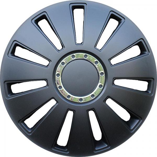 Nissan (zamienniki) - Kołpaki samochodowe Silverstonepro, czarny - 16 cali