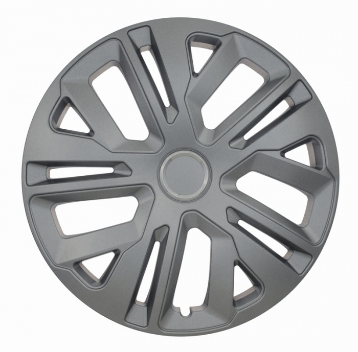 Kołpaki samochodowe Raven ring - srebrny, 16 cali