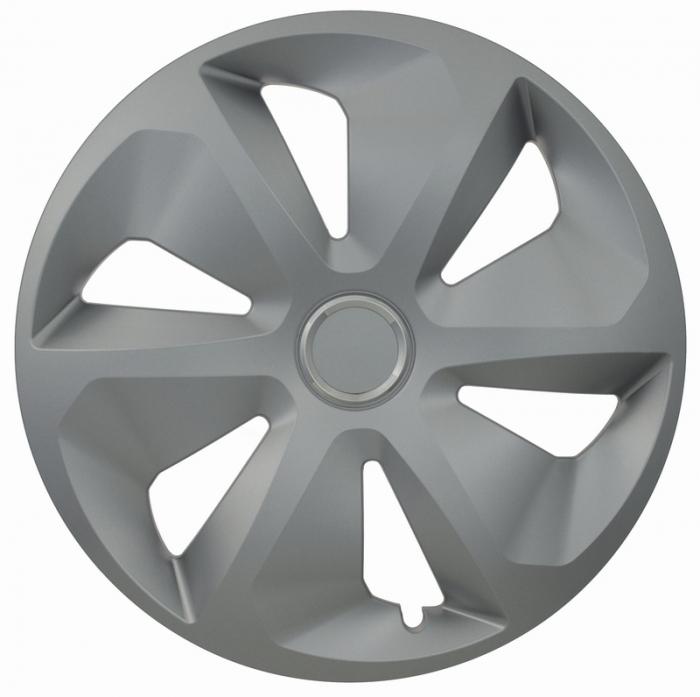 Kołpaki samochodowe Roco ring - srebrny, 15 cali