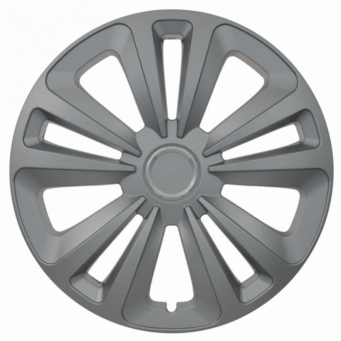 Kołpaki samochodowe Terra ring - srebrny, 16 cali