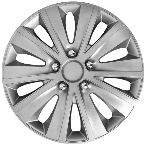 Kołpaki samochodowe Rapide - srebrny, 16 cali