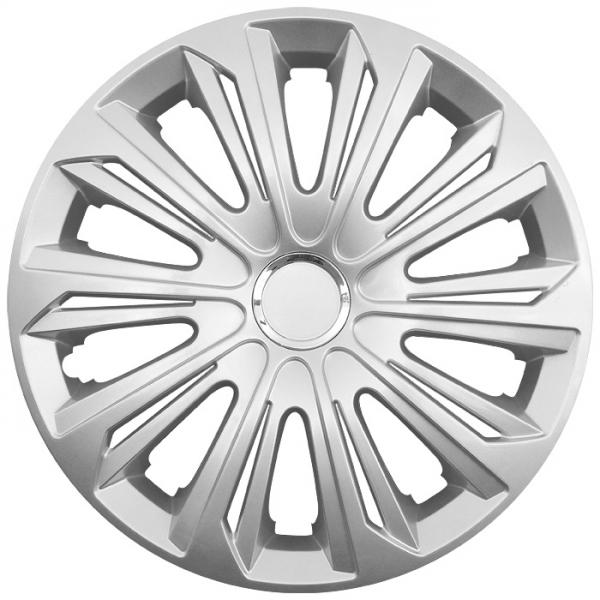 Kia (zamienniki) - Kołpaki samochodowe Strong ring - srebrny, 16 cali