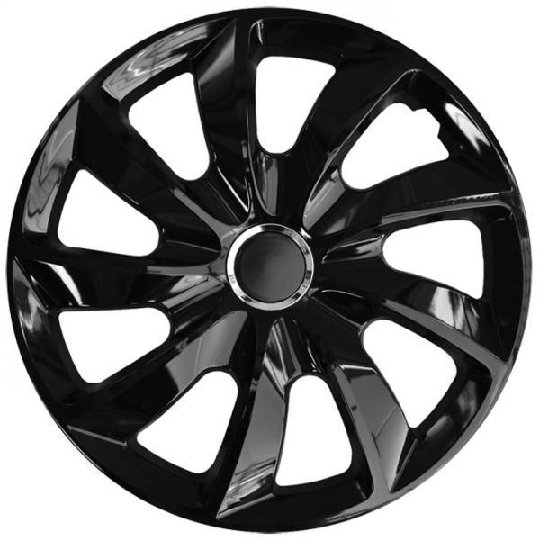 Kołpaki samochodowe Stig - czarny, 14 cali