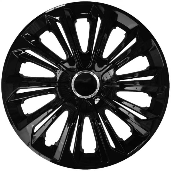 Kołpaki samochodowe Strong ring - czarny, 16 cali