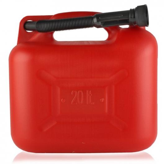 Kanister na paliwo - plastikowy poj. 20 L.