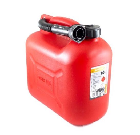 Kanister na paliwo - plastikowy poj. 10 L.