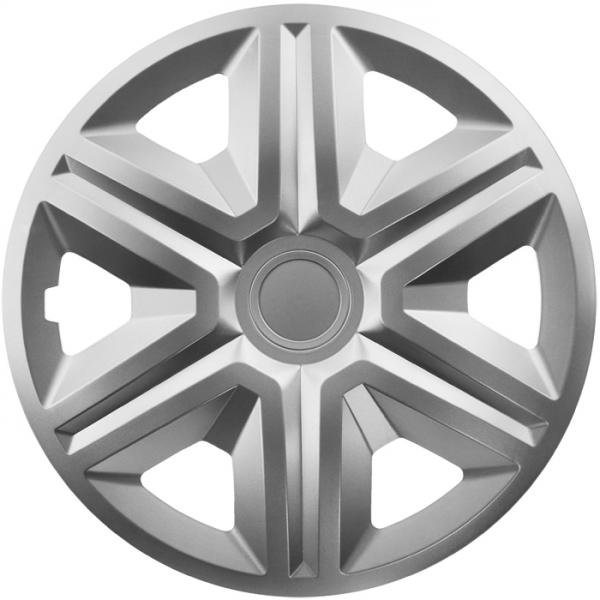 Kołpaki samochodowe Action - srebrny, 16 cali