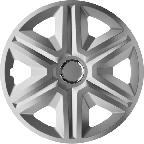 Kołpaki samochodowe Fast - srebrny, 15 cali
