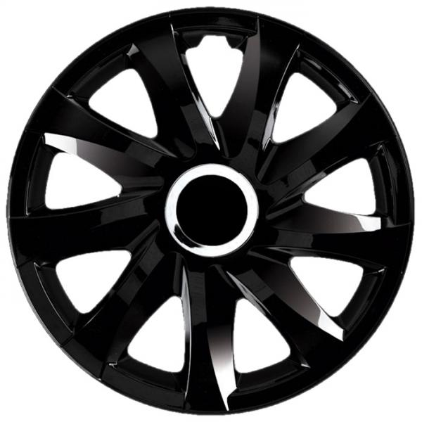 Kołpaki samochodowe Drift - czarny, 13 cali