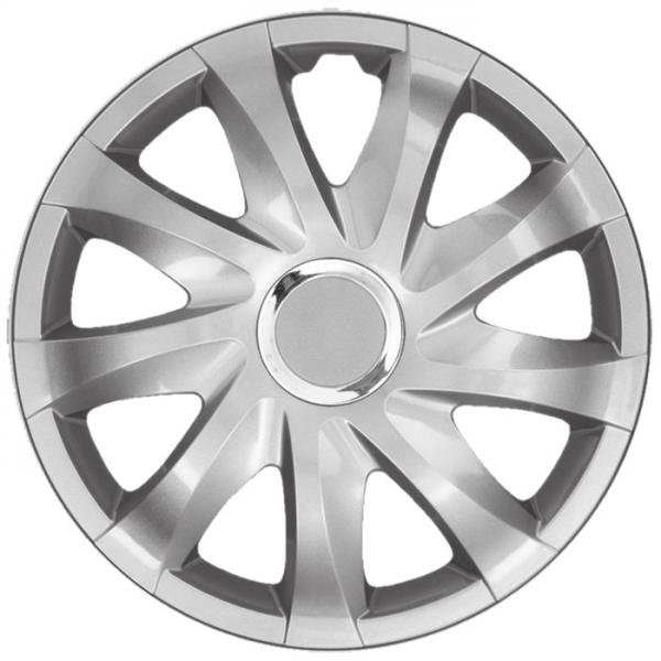 Nissan (zamienniki) - Kołpaki samochodowe Drift - srebrny, 15 cali