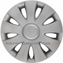 Kołpaki samochodowe Aura Ring - srebrny, 14 cali