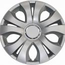 Kołpaki samochodowe Top Ring - srebrny, 16 cali