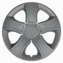 Kołpaki samochodowe Bis ring - srebrny, 16 cali