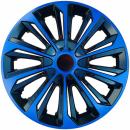 Kołpaki samochodowe Strong - niebiesko czarny, 14 cali