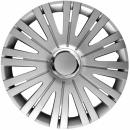 Kołpaki samochodowe Active - srebrny, 16 cali