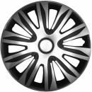 Kołpaki samochodowe Nardo srebrno-czarny, 16 cali