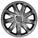 Kołpaki samochodowe Drift - grafit, 16 cali