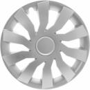 Kołpaki samochodowe Cliff - srebrny, 15 cali