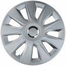 Kołpaki samochodowe Stratos - srebrny, 16 cali