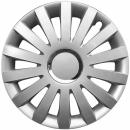 Kołpaki samochodowe Sail - srebrny, 17 cali