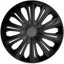 Kołpaki samochodowe Strong - czarny mat, 14 cali