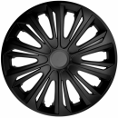 Kołpaki samochodowe Strong - czarny mat, 16 cali