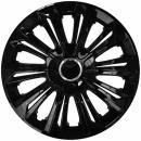 Kołpaki samochodowe Strong ring - czarny, 15 cali