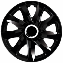 Kołpaki samochodowe Drift - czarny, 14 cali
